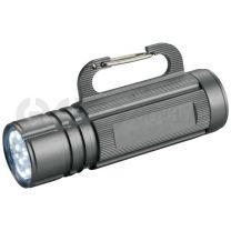 Carabiner hook flashlight