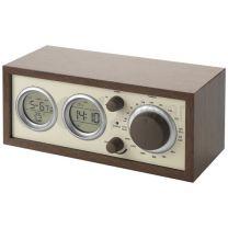 Klasikinis radijas su termometru