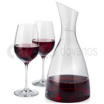 Prestige decanter with 2 wine glasses