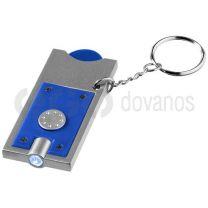 Allegro monetos laikiklis raktų pakabukas