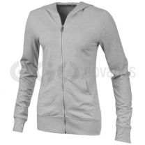 Garner full zip hooded ladies sweater