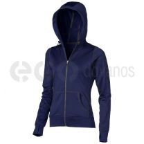 Moresby hooded full zip ladies Sweater