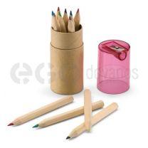 12spalvotų pieštukų