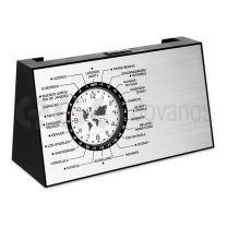 Besisukantispasauliolaikolaikrodis